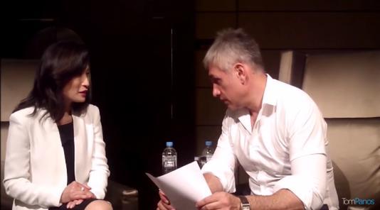 Tom Panos interviews Vivien Yap