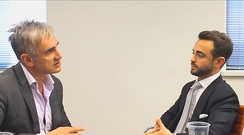 Tom Panos interviews Gavin Rubinstein