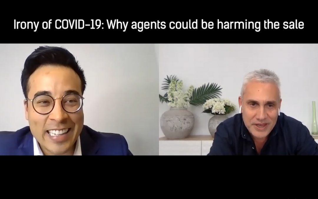 The irony of COVID-19: Why agents could be harming the sale | Michael Choi