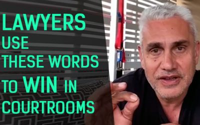 Lawyers use these words to win in courtrooms | Scripts & Dialogue