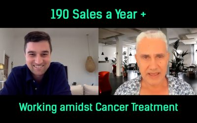 Working during cancer treatment | Angelo Nickolas made 190 Sales a Year!