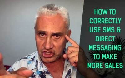 How to correctly use SMS & Direct Messaging to make more sales