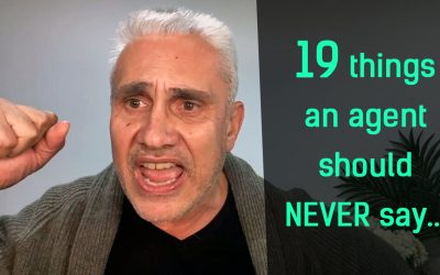19 things agents should NEVER say 🤦♂️