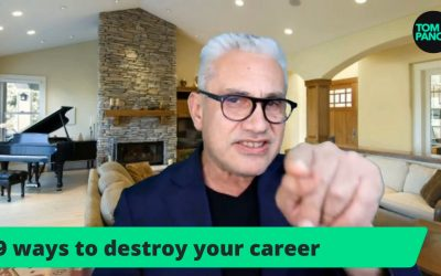 9 ways agents destroy their career (what NOT to do)