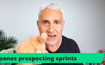 The 'Panos Prospecting Sprints' Method