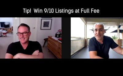 Tip! Win 90% of your Listings at FULL FEE